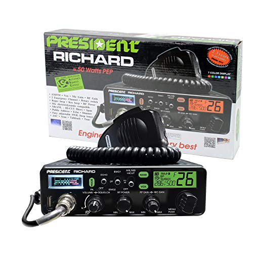 President Richard 10 Meter with 50W PEP