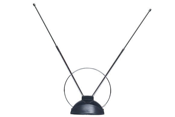 A rabbit ear antenna work better