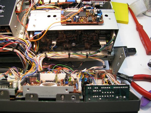 Changing the heat sync