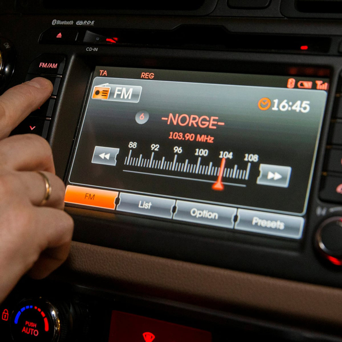 FM Signal on a Radio