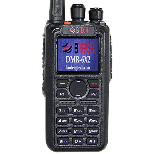 BTECH dmr 6X2 GPS Dual Band DMR Radio Radio