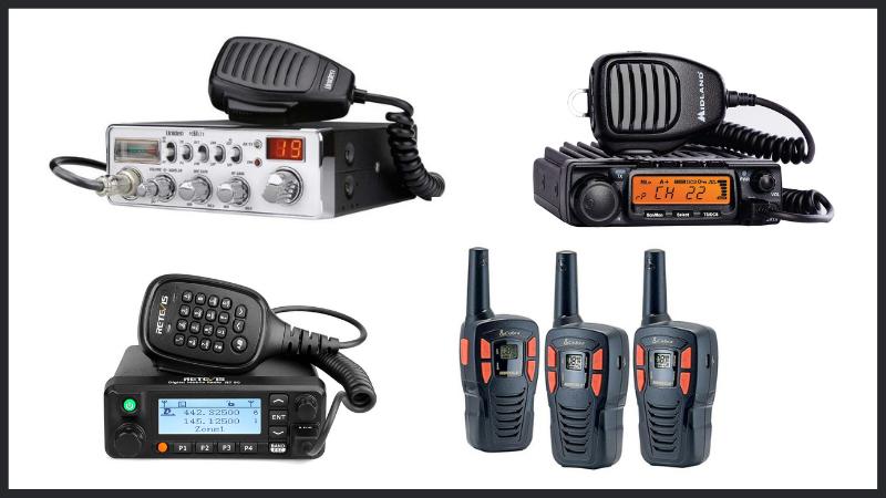 CB Radio Vs HAM Vs Walkie Talkie Vs GMRS