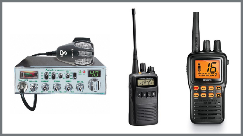 CB Radio Vs. UHF Vs. VHF