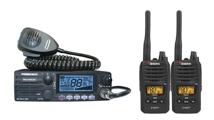 CB Radios Vs. UHF