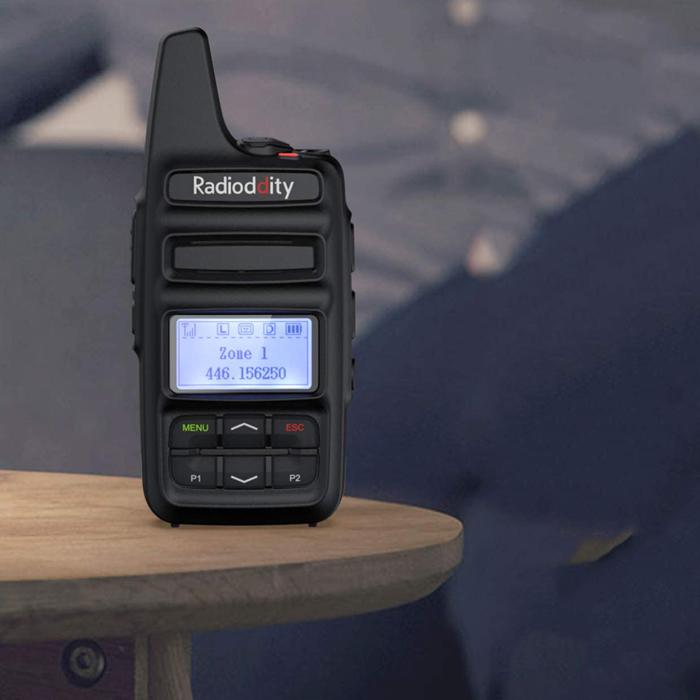 Dual Band DMR Radio